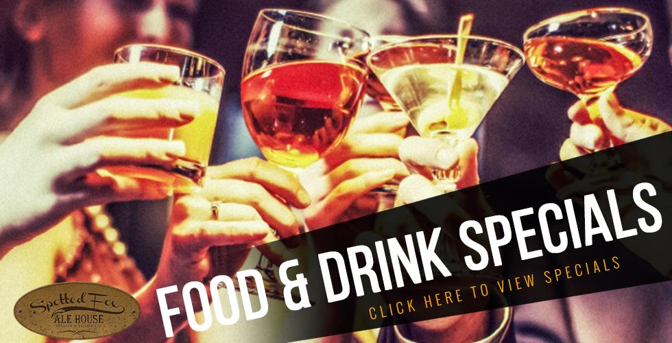 Food & drink specials