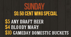 Spotted Fox Ale House Specials